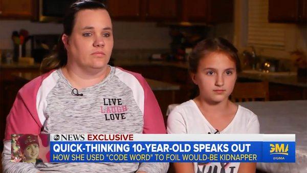 """Cô bé 10 tuổi cực nhanh trí, đặt câu hỏi khiến kẻ lạ có ý định tiếp cận phải """"xanh mặt"""", lẳng lặng bỏ đi - 1"""