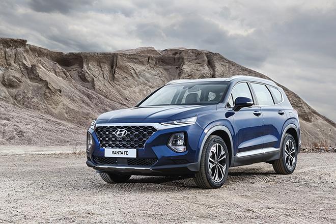 Giá xe Hyundai Santa Fe lăn bánh tháng 4/2021 - 1