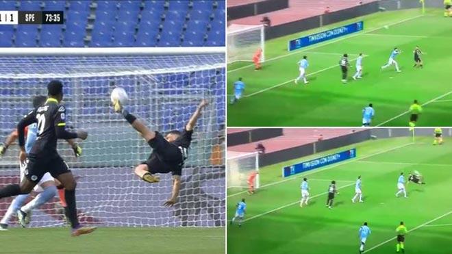 Siêu phẩm ngả bàn đèn ở Serie A được khen đẹp hơn Rooney, Andy Carroll - 1