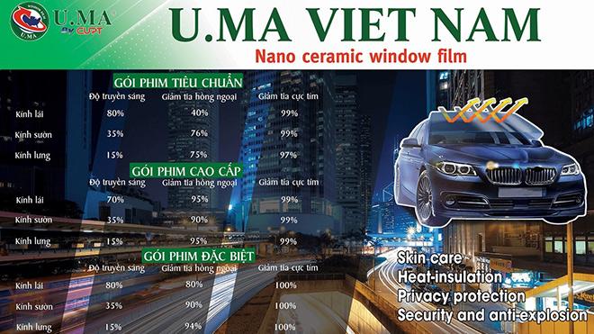 Phim cách nhiệt U.MA - Tiên phong về giá cả và chất lượng - 1