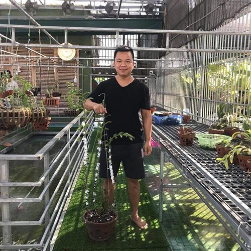 Nghệ nhân Nguyễn Đức Đại và hành trình gây dựng vườn lan đẹp mê hồn - 1