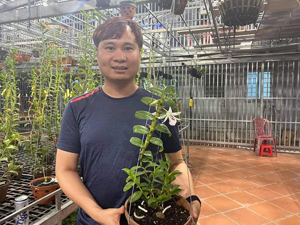 Ông chủ vườn lan 9X Trần Vinh chia sẻ bí quyết trồng lan thành công - 1