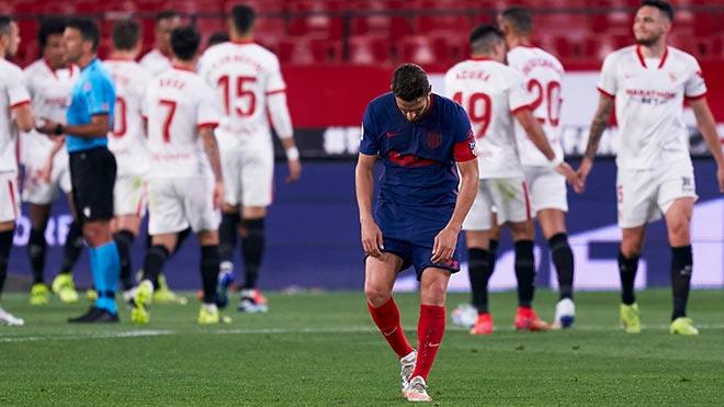 Kịch tính bảng xếp hạng La Liga: Atletico thua, Barca – Real định đoạt vô địch ở El Clasico? - 1