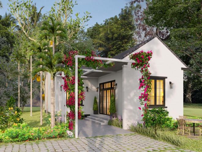 Ba chị em gái ở Bình Định xây nhà cấp 4 tuyệt đẹp tặng bố mẹ - 1