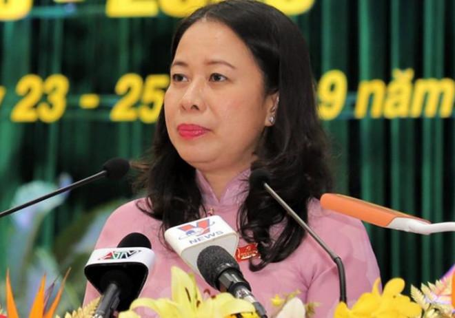 Bà Võ Thị Ánh Xuân được bầu làm Phó Chủ tịch nước - 1