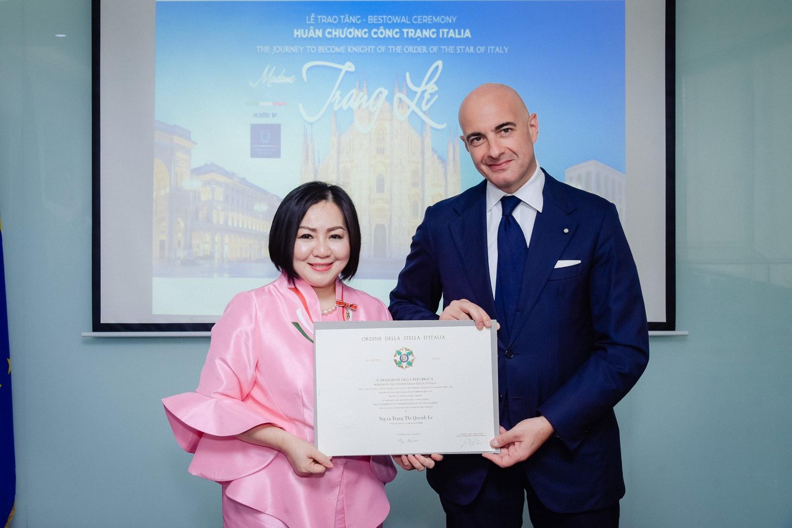 Người phụ nữ Việt đầu tiên được tặng Huân chương từ Tổng thống Ý là ai? - 1