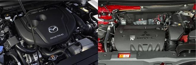 So sánh Mazda CX5 2.5AT AWD và Outlander AWD, tầm giá 1 tỷ đồng chọn xe nào? - 11
