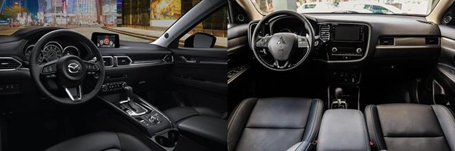 So sánh Mazda CX5 2.5AT AWD và Outlander AWD, tầm giá 1 tỷ đồng chọn xe nào? - 10