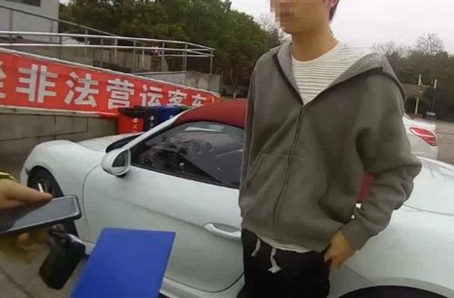 Thiếu gia trộm xe sang của bố lái quá tốc độ bị cảnh sát tóm gáy - 1