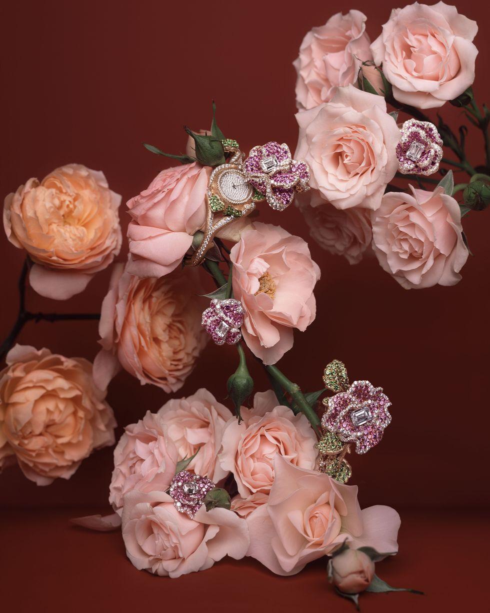 Dior ra mắt bộ sưu tập trang sức xa xỉ tràn ngập hoa hồng - 1