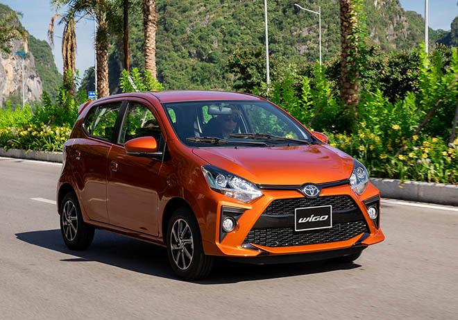 Giá xe Toyota Wigo lăn bánh tháng 4/2021 - 1
