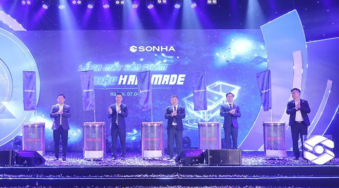 Tập đoàn Sơn Hà ra mắt sản phẩm chậu handmade cao cấp - 1