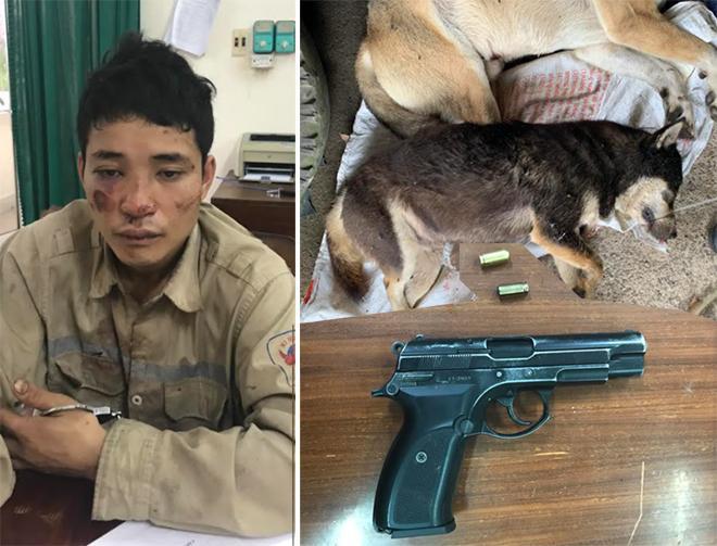 Trộm chó, dùng súng bắn đạn cao su chống trả cảnh sát - 1