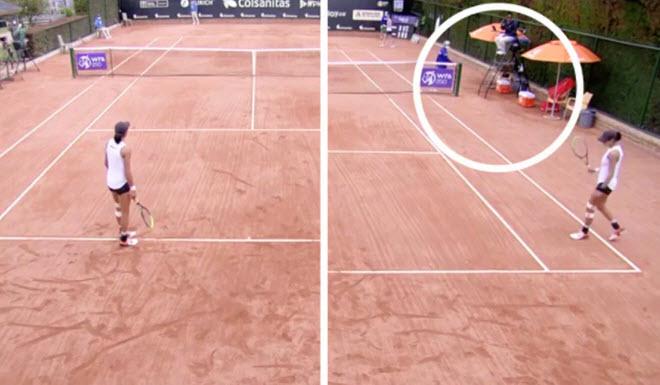 """Điểm số tennis bị """"đánh cắp"""": Thua tức tưởi vì trọng tài tính nhầm điểm - 1"""