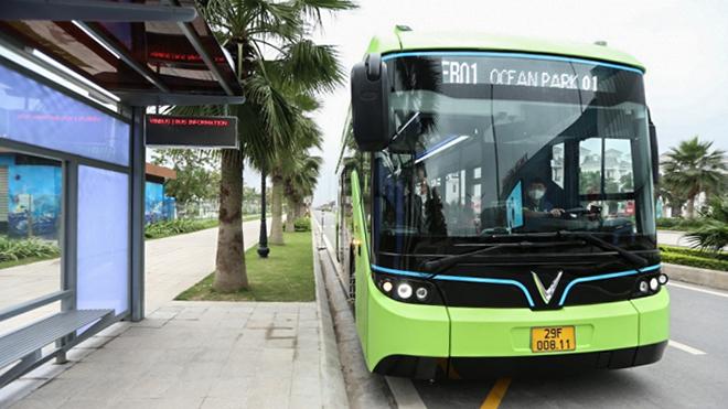 Xe VinBus chính thức đi vào hoạt động tại Hà Nội - 3