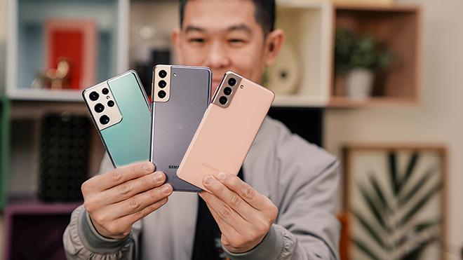"""""""Gia đình"""" Galaxy S21 giúp Samsung thắng to - 3"""