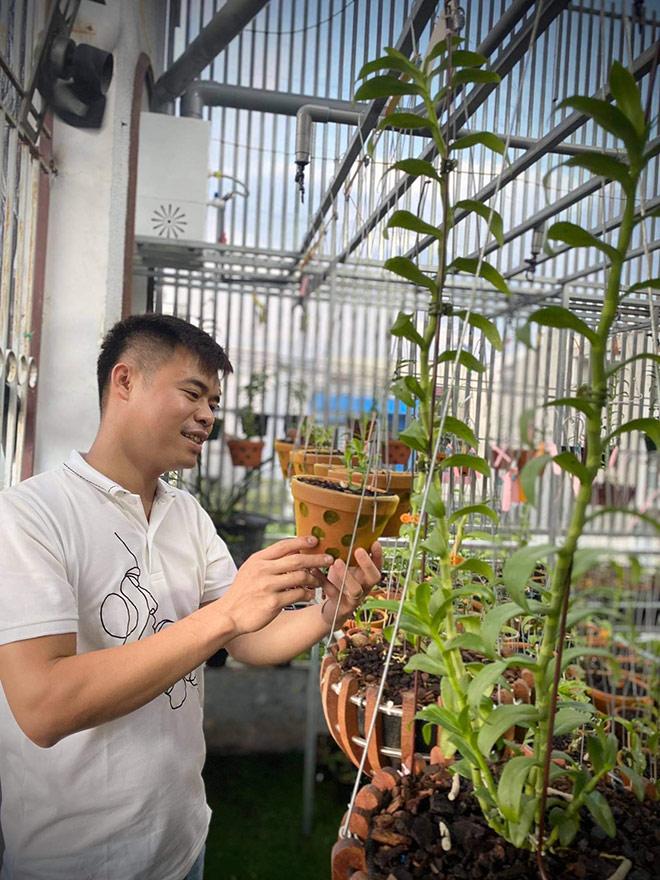 Chia sẻ về cơ duyên đến với hoa lan của ông chủ vườn lan Trung Dũng - 1