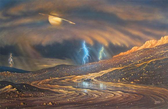 Tìm ra hành tinh có thể sinh sống được nhờ… mưa? - 1