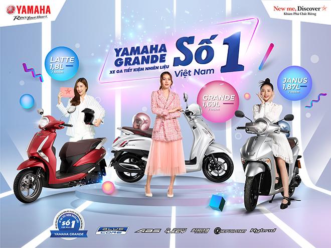 """Yamaha Grande tiếp tục thống lĩnh """"ngôi vương"""" tiết kiệm nhiên liệu năm 2021 - 1"""