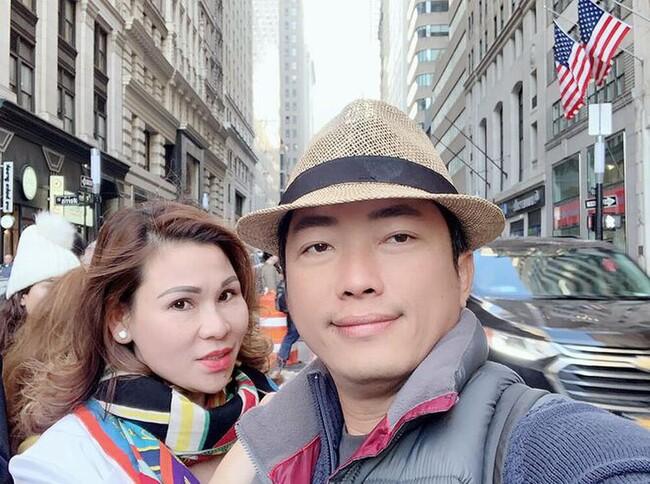 """Mới đây, thông tin người vợ thứ hai của Kinh Quốc là doanh nhân Lâm Thị Thu Trà vừa bị cơ quan chức năng tạm giữ để điều trakhiến cộng đồng mạng """"dậy sóng""""."""