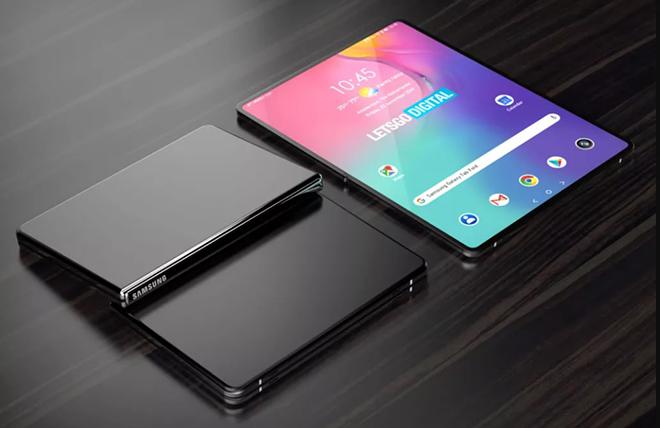 Quên Galaxy Z Fold 3 đi, Samsung sắp có máy tính bảng gập lại - 1