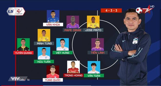 Văn Toàn HAGL bùng nổ, nổi bật nhất đội hình tiêu biểu V-League - 1