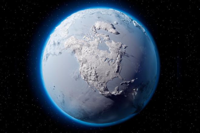 Sốc: Trái Đất từng biến thành màu trắng, mất hết oxy - 1