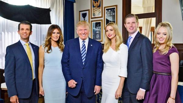Ông Trump chia sẻ cách nuôi dạy 5 người con, nhiều người liền so sánh với ông Joe Biden - 1