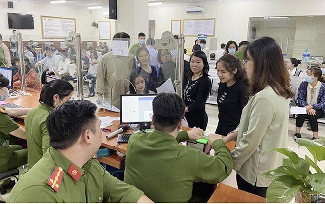 Công an TP Hà Nội thông báo thay đổi địa điểm cấp CCCD - 1