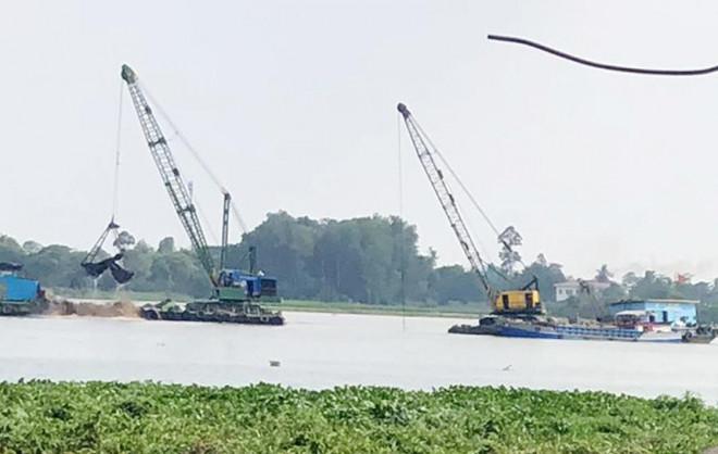 Mỏ cát sông Tiền được bán với giá gần 2.812 tỷ đồng: Giá khởi điểm 7,2 tỷ đồng - 1