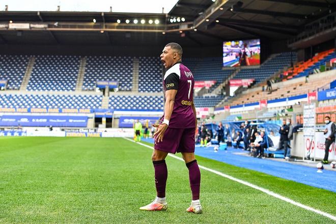 """Video Strasbourg - PSG: Mbappe """"nổ súng"""", đại tiệc 5 bàn thắng mãn nhãn - 1"""