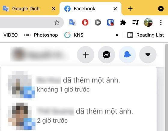 2 cách tắt thông báo cập nhật từ bạn bè trên Facebook - 1