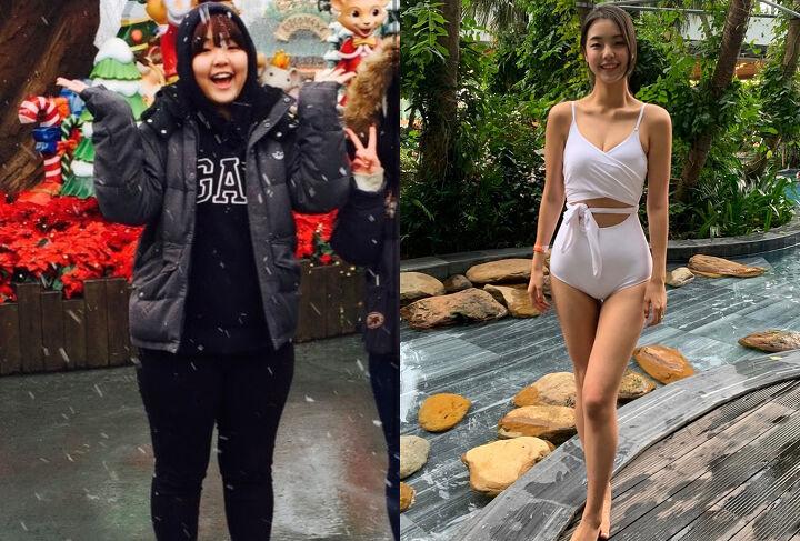 Cô gái Hàn Quốc từng nặng 85kg giảm cân hoàn hảo - 1