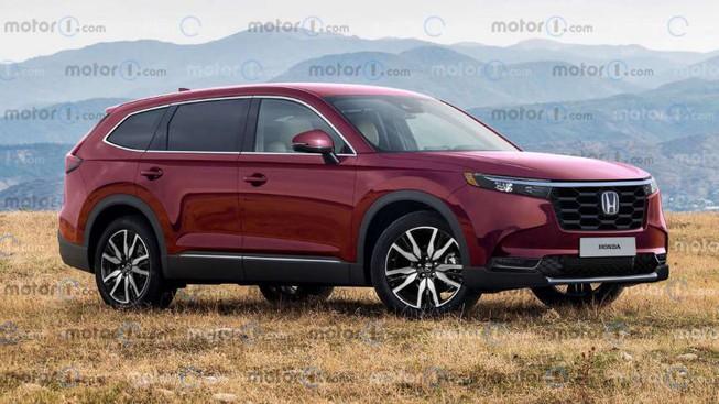 Honda CRV đời 2023 sẽ hầm hố hơn - 1