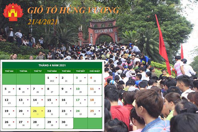 Lễ hội Đền Hùng năm 2021 được tổ chức như thế nào? - 1