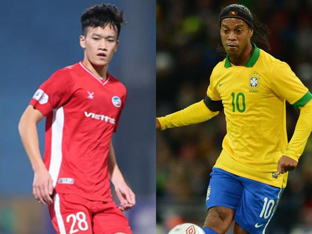 Hoàng Đức, Xuân Tân ghi siêu phẩm V-League đẳng cấp như Ronaldinho, Ronaldo