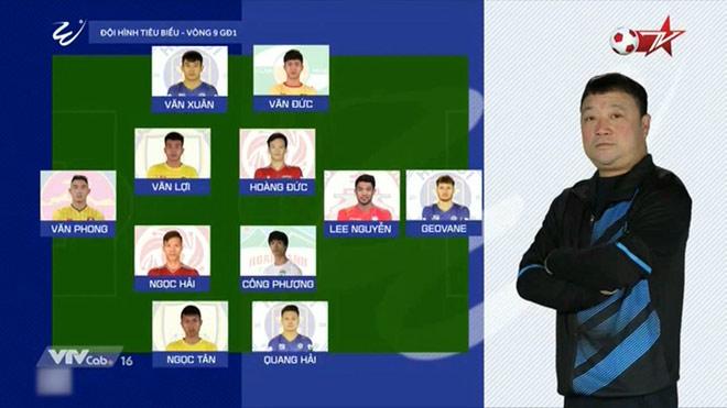 CLB Hà Nội vùi dập Quảng Ninh 4-0, thống trị đội hình tiêu biểu vòng 9 V-League - 1