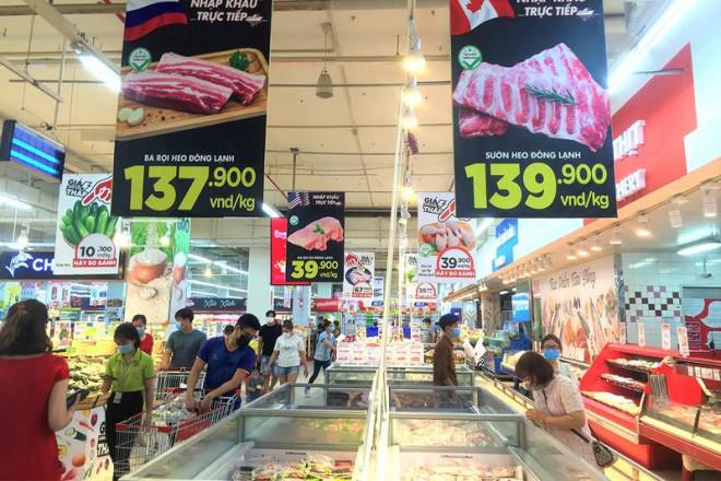 Thịt, dầu ăn, đường… rủ nhau tăng giá - 1