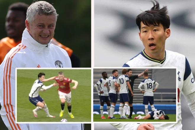 """Họp báo MU đá Europa League: Solskjaer mượn Sir Alex """"dạy dỗ"""" Son Heung Min - 1"""