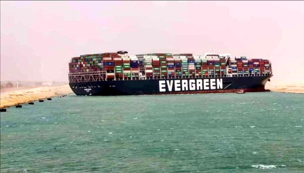 Toà án Ai Cập chính thức ra phán quyết về siêu tàu chở hàng từng mắc cạn ở Suez - 1