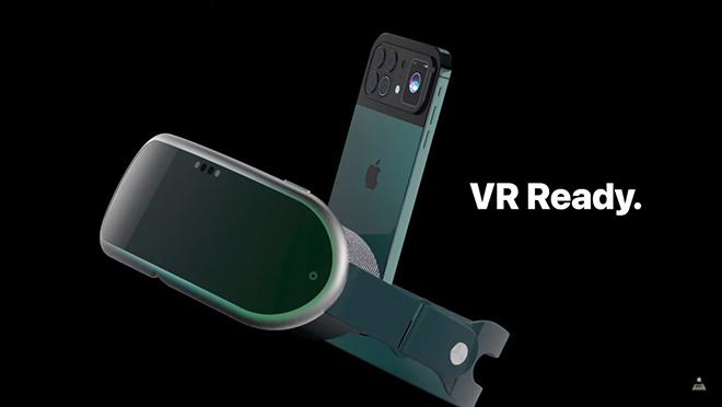 iFan sôi sục với concept iPhone 13 VR của tương lai - 1