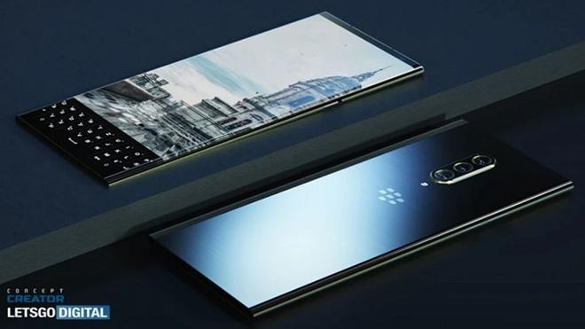 Độc đáo ý tưởng smartphone 5G đầu tiên của BlackBerry - 1