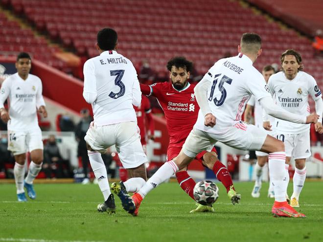 """Kết quả bóng đá Cúp C1 Liverpool - Real Madrid: Cơ hội liên hồi, dấu ấn """"người nhện"""" - 1"""