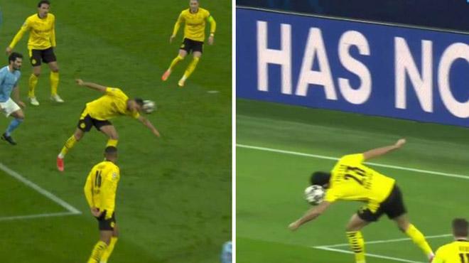 Man City vào bán kết Cúp C1: Guardiola đón kỷ lục, tội đồ Dortmund kêu oan - 1