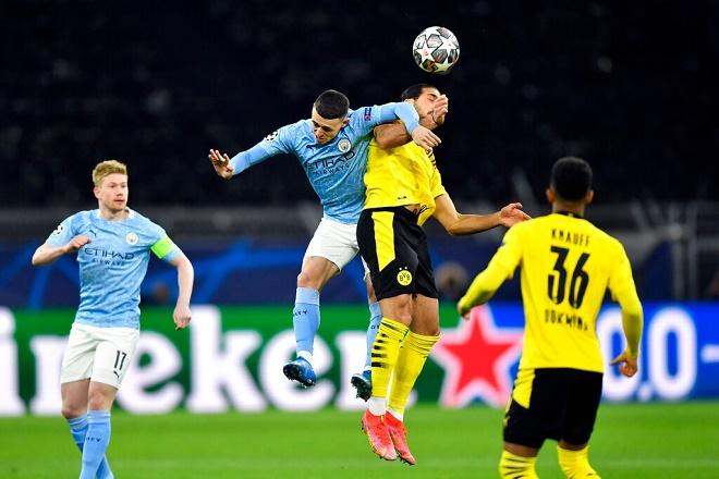 """Mãn nhãn Cúp C1: SAO trẻ """"nã đại bác"""" giúp Man City hạ Dortmund vào bán kết - 1"""