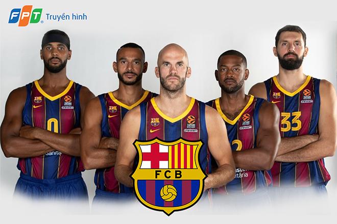 Barcelona Basquet - Tham vọng xưng vương lần thứ 3 tại Giải Bóng rổ châu Âu EuroLeague 2020/21 - 1