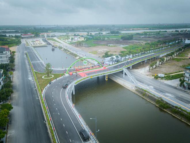 Khánh thành cây cầu đẹp nhất của Hải Dương - 1