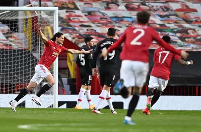 Kết quả bóng đá Europa League, MU - Granada: Tuyệt phẩm Cavani, vé bán kết xứng đáng - 1
