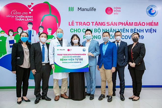 Manulife Việt Nam tri ân đội ngũ bác sĩ tại các Bệnh viện Phụ Sản thông qua món quà bảo vệ - 1