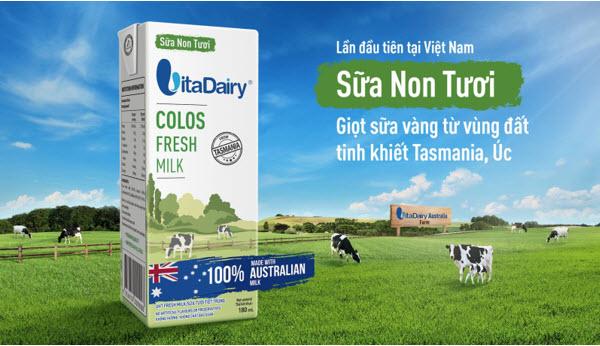 """Sữa Non Tươi VitaDairy- Quân bài chiến lược """"khác biệt"""" - 1"""